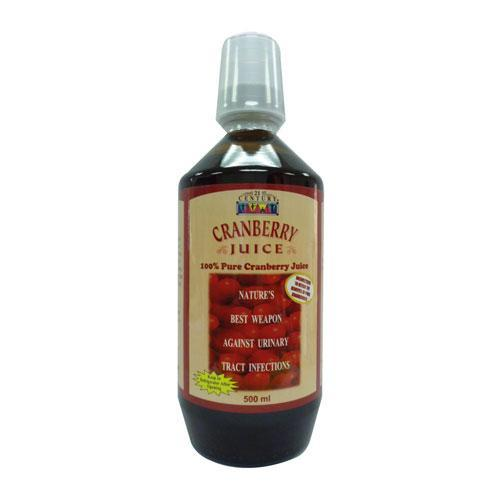 21ST CENT CRANBERRY JUICE 500ML FOR (end 8/12/2018 3:15 PM)