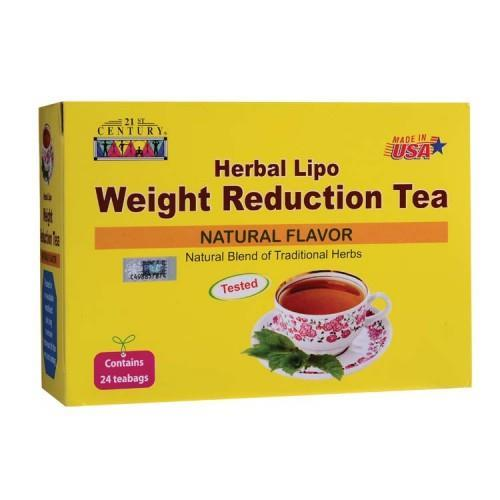 21st Century Herbal Lipo Tea (Natural Flav) (24 Teabags) (Weight Loss)