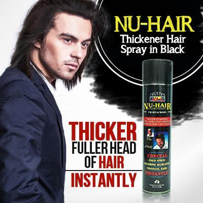 21st Century Nu-Hair Spray (Conceal Bald Spots!) (200g)