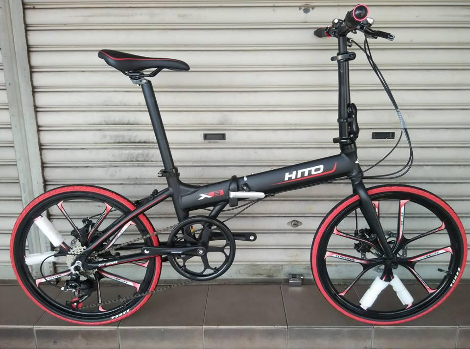 "22"" 451 HITO X5 FOLDING BIKE 7S FOLDABLE BICYCLE + SPORT RIM"