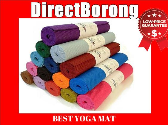 22.99 ONLY 6mm Non Slip yoga Mat Aerobic Fitness Towel Ball exercise
