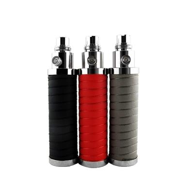 2200mAh Capacity eGo T Battery for Electronic Cigarette-Black/Red/Gray
