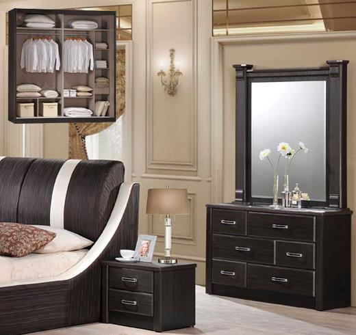 2334 (M5680) Divan Queen Bedroom Set