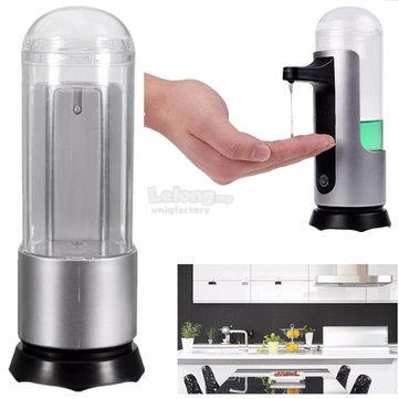 250ml Auto Sensor Liquid Sanitizer Induction Soap Dispenser Bathroom