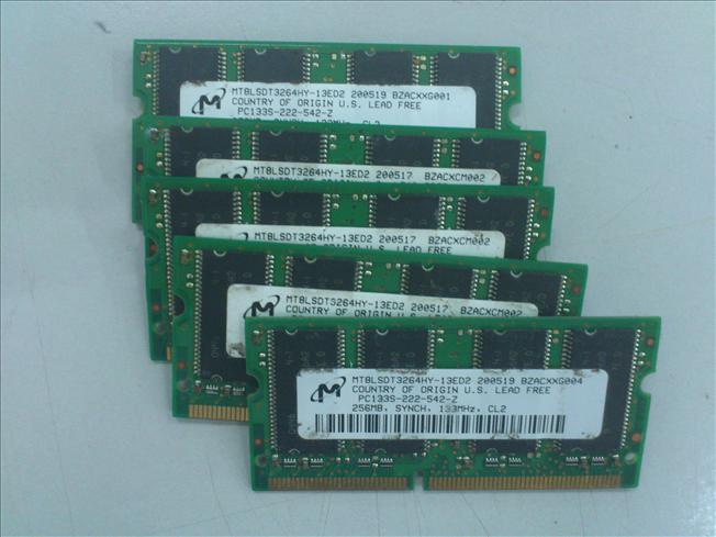 256MB PC 133Mhz SDRAM for Notebook 301111