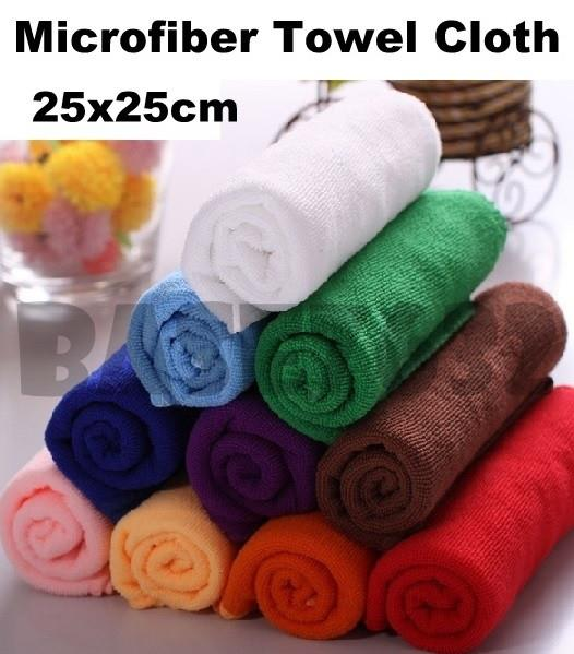 25x25cm Micro Fiber  Microfiber Cleaning Table Cloth Towel