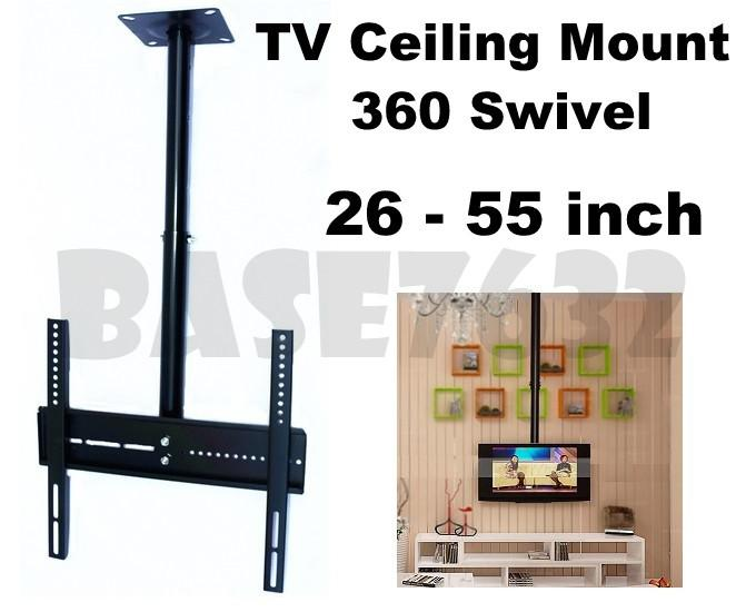 26 to 55 Inch  LCD Plasma TV Swivel Wall Ceiling Mount Bracket Holder