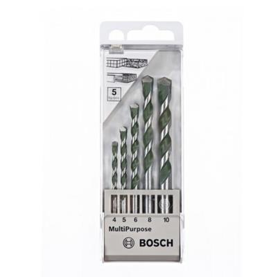 2608680798 5PCS BOSCH MULTI PURPOSE DRILL BIT SET
