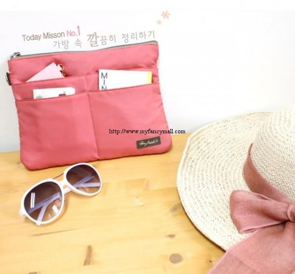 2827 Korea Japan Multifunctional Storage Clutch Bag Bags