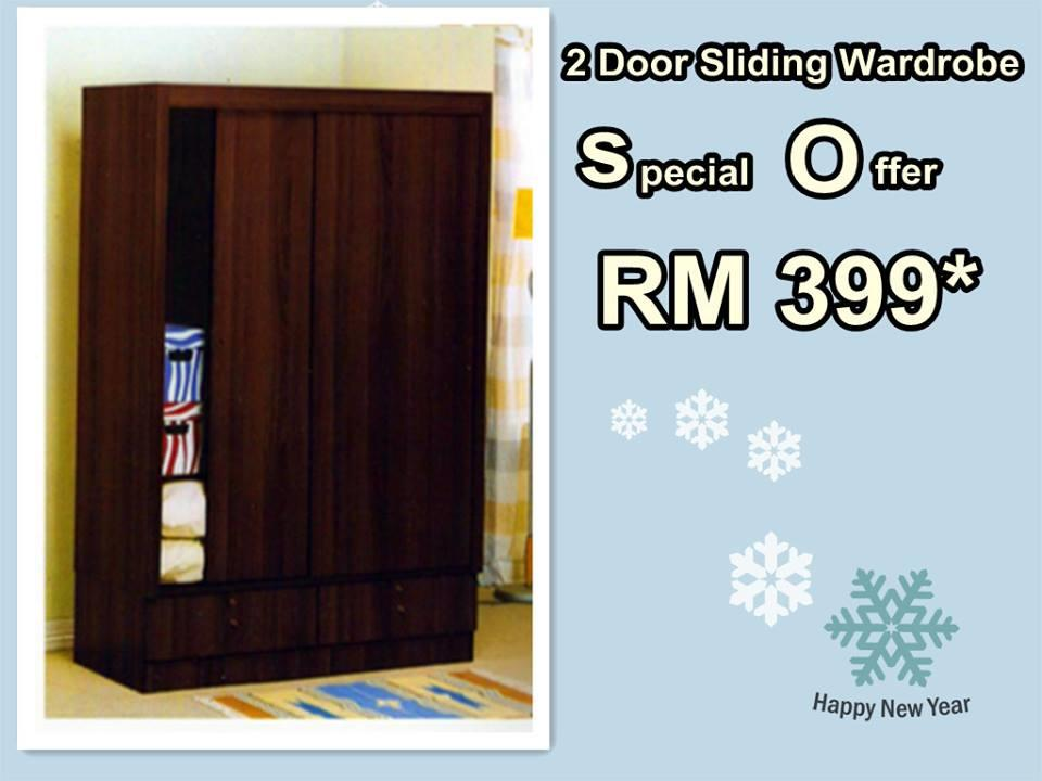 2DOOR SLIDING WARDROBE SPECIAL OFFER