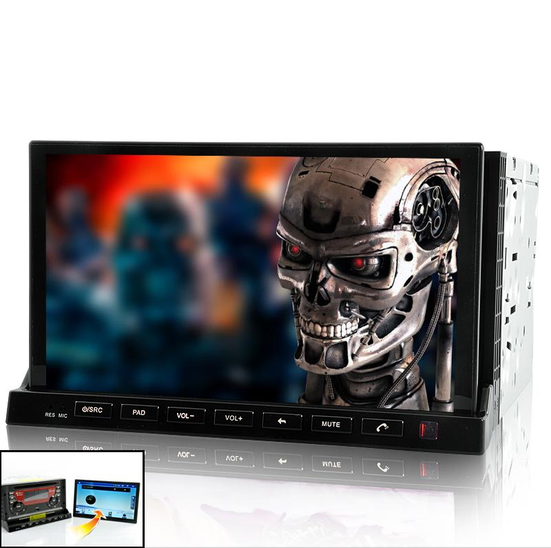 2in 1 Car DVD with 7 Inch Detachable Android 2.3 Tablet Panel (WiFi,3G, G..