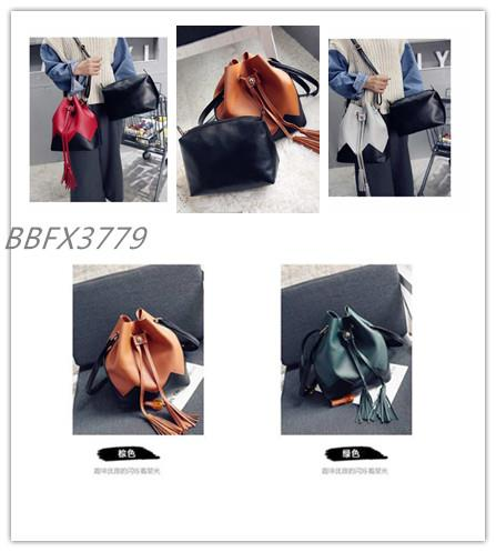 2in1 Fashion Bucket Sling Bag-BBFX3779
