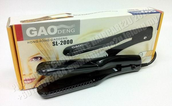 2in1 GaoDeng SL-2000 Straightener & Crimper Iron