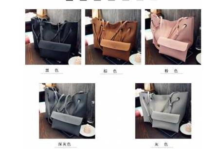 2in1 Korea Hit Shoulder Bag -  BBFX3748
