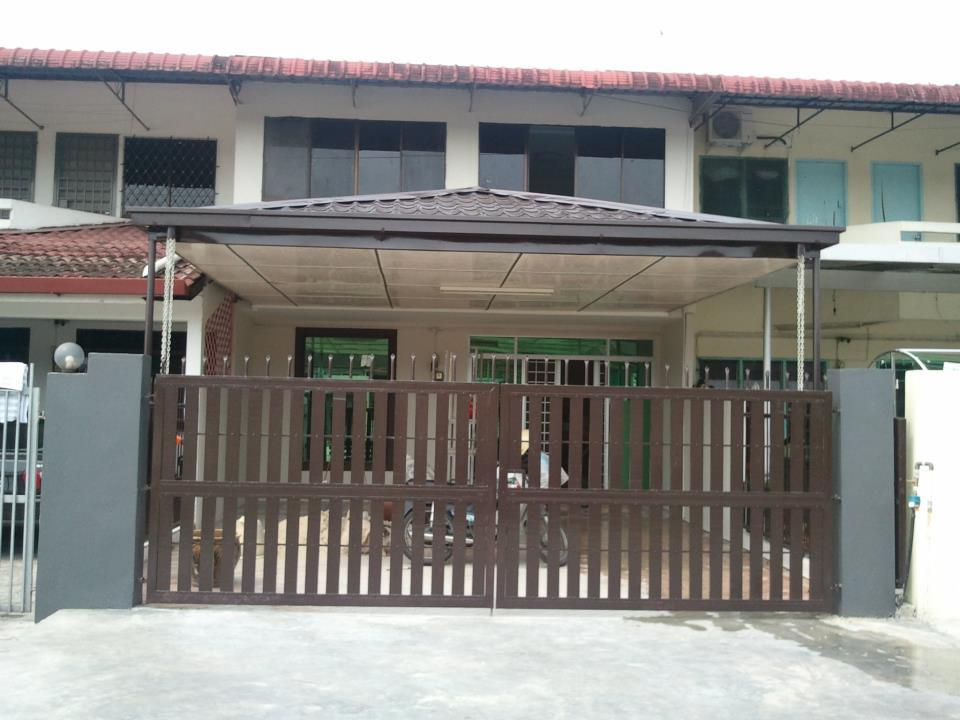 2nd Hand Double Storey Intermediate Terrace House For Sale