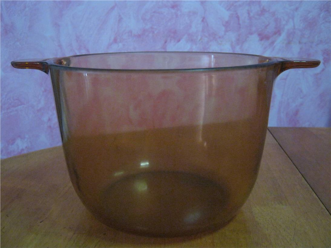 2nd hand: VISION Ware Corning Amber 3.5L Stock Pot without Lid