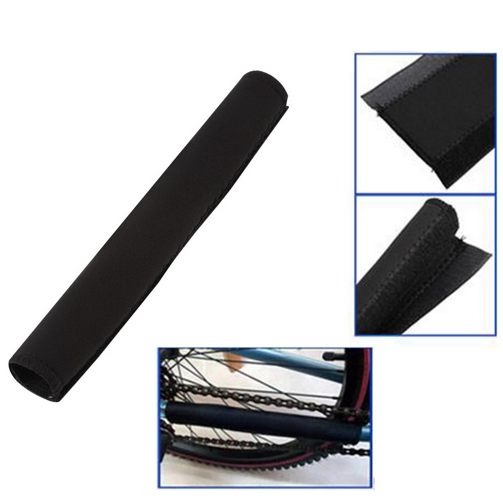 2pcs Bike Bicycle Cycling Chain Frame Protector Tube Wrap Cover Guard