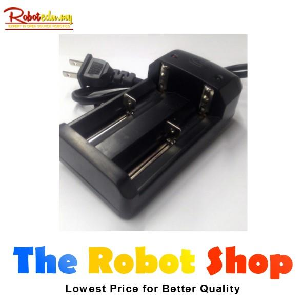 2Slot 3.7V 26650 18650 14500 18500 Li-ion Rechargeable Battery Charger
