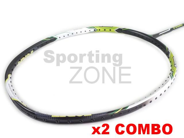 2x Apacs Foray 300 Badminton Racket