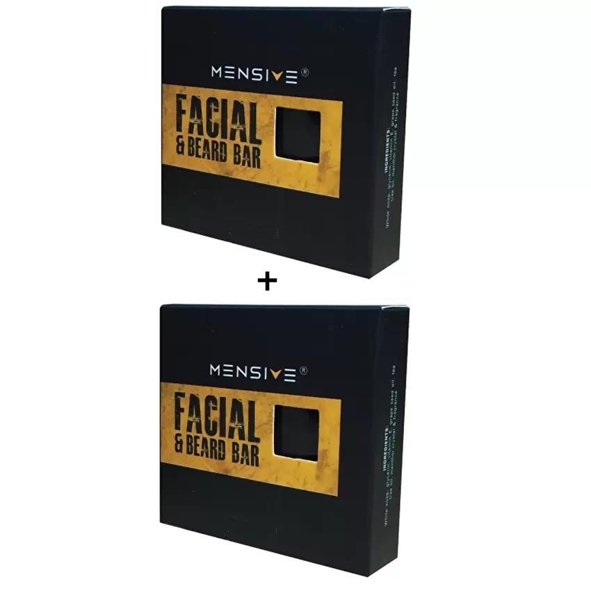 [NEW] 2x Mensive Facial & Beard Bar (FBB) 50g