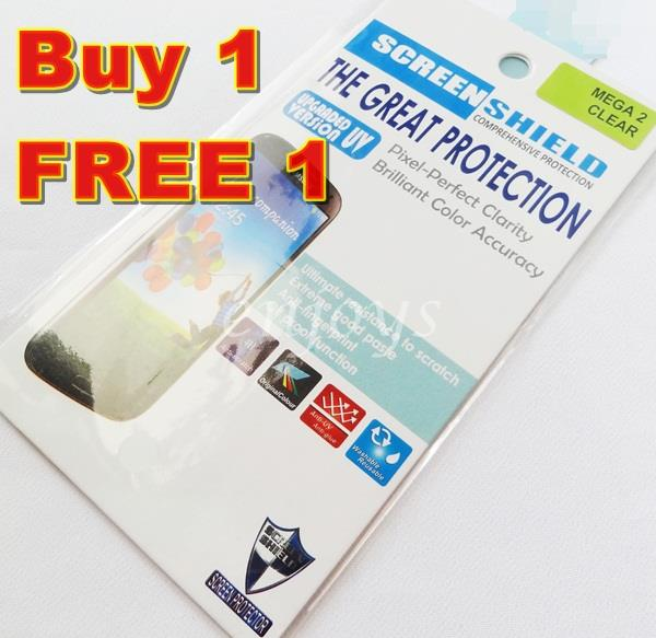 2x Ultra Clear LCD Screen Protector Samsung Galaxy Mega 6.3 i9205