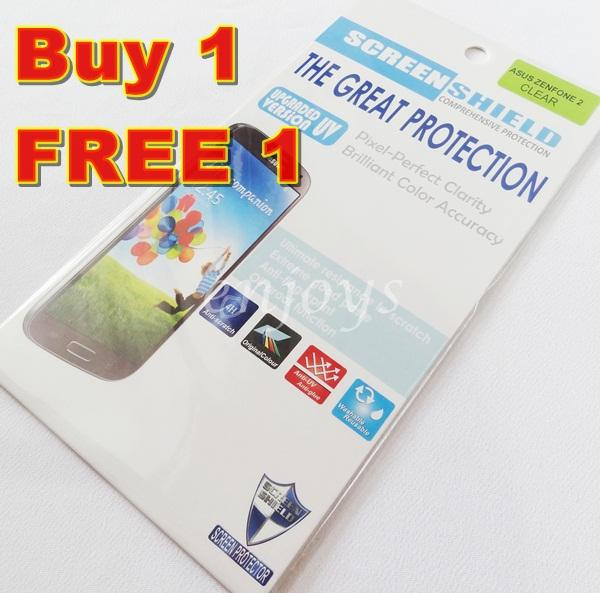 2x Ultra Clear Screen Protector Asus Zenfone 2 5.5' / ZE550ML ZE551ML