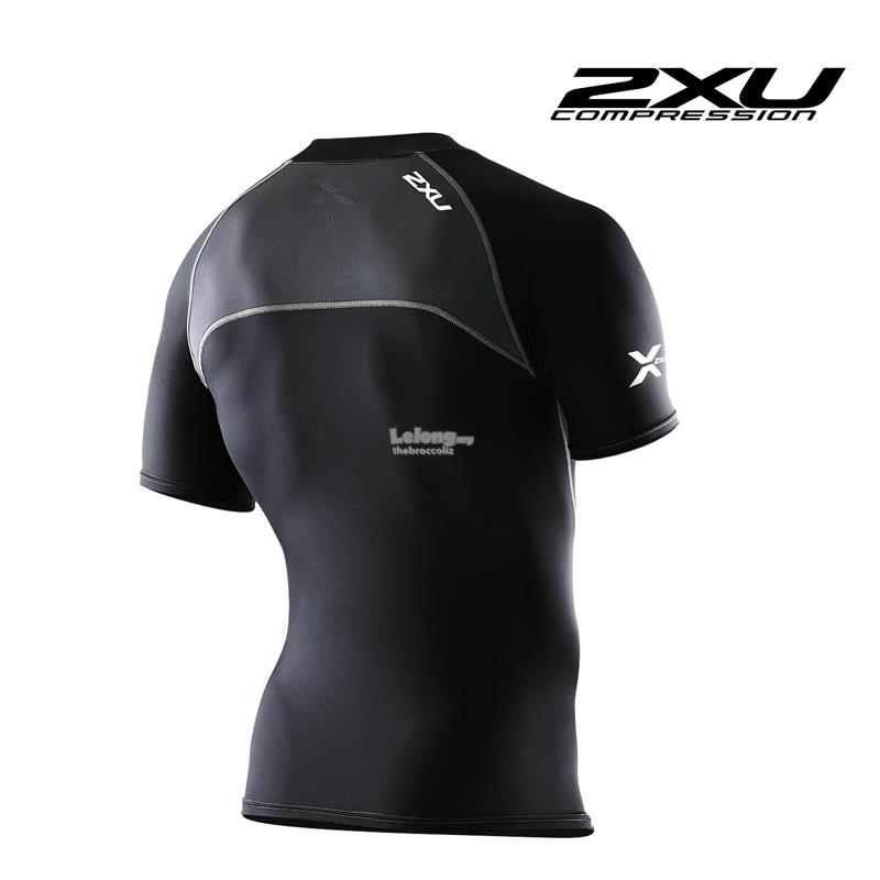 2XU Men Short Sleeve Compression Top - MA1982a