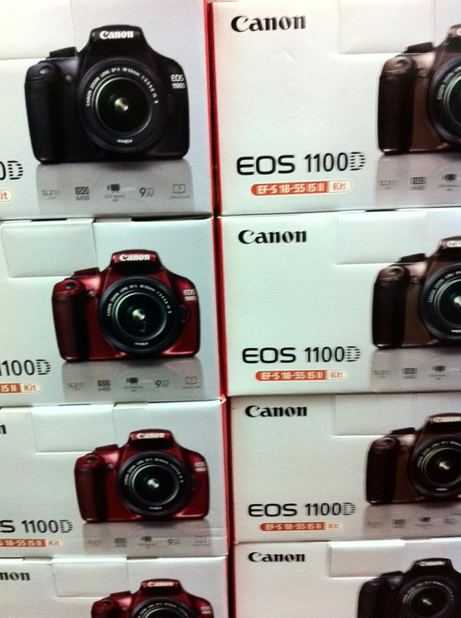how to use my canon eos 1100d