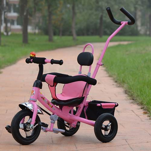 3 IN 1 BICYCLE PINK