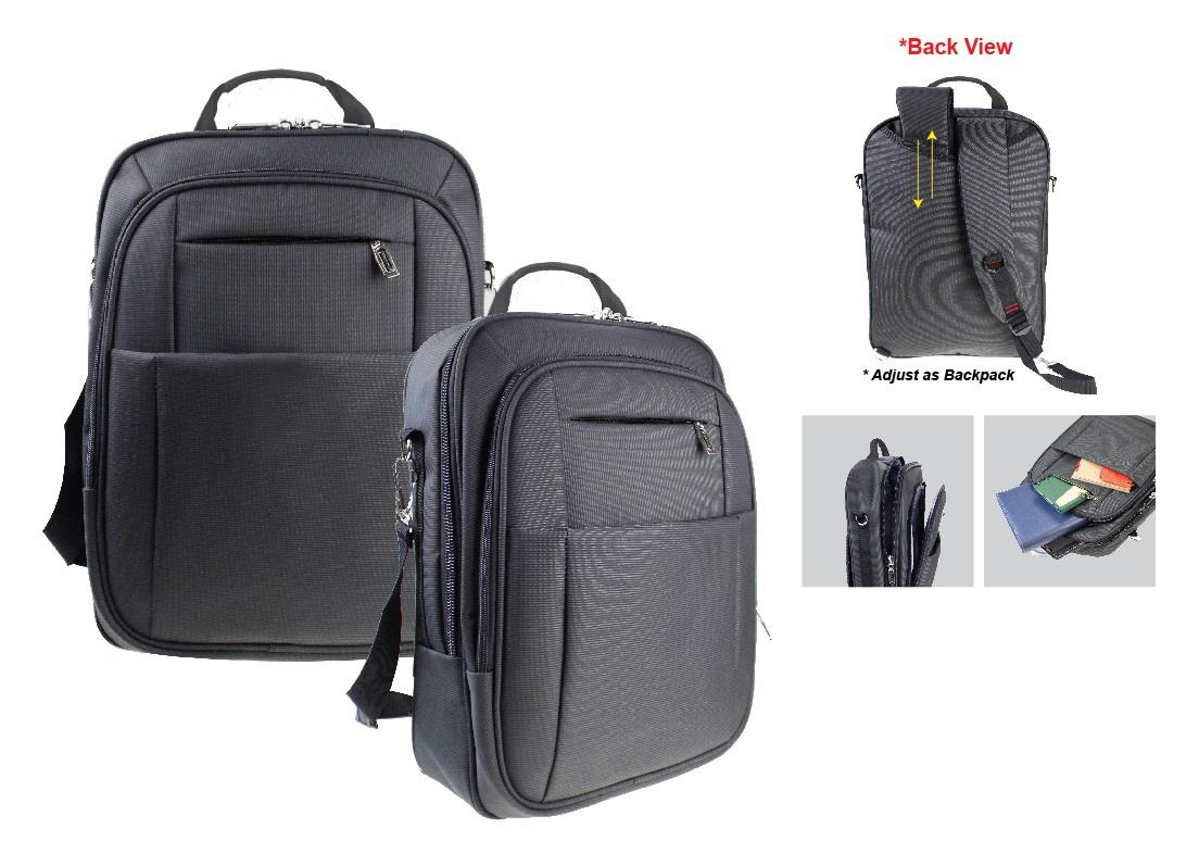 3 in 1 Laptop Back Pack with Fully Padded
