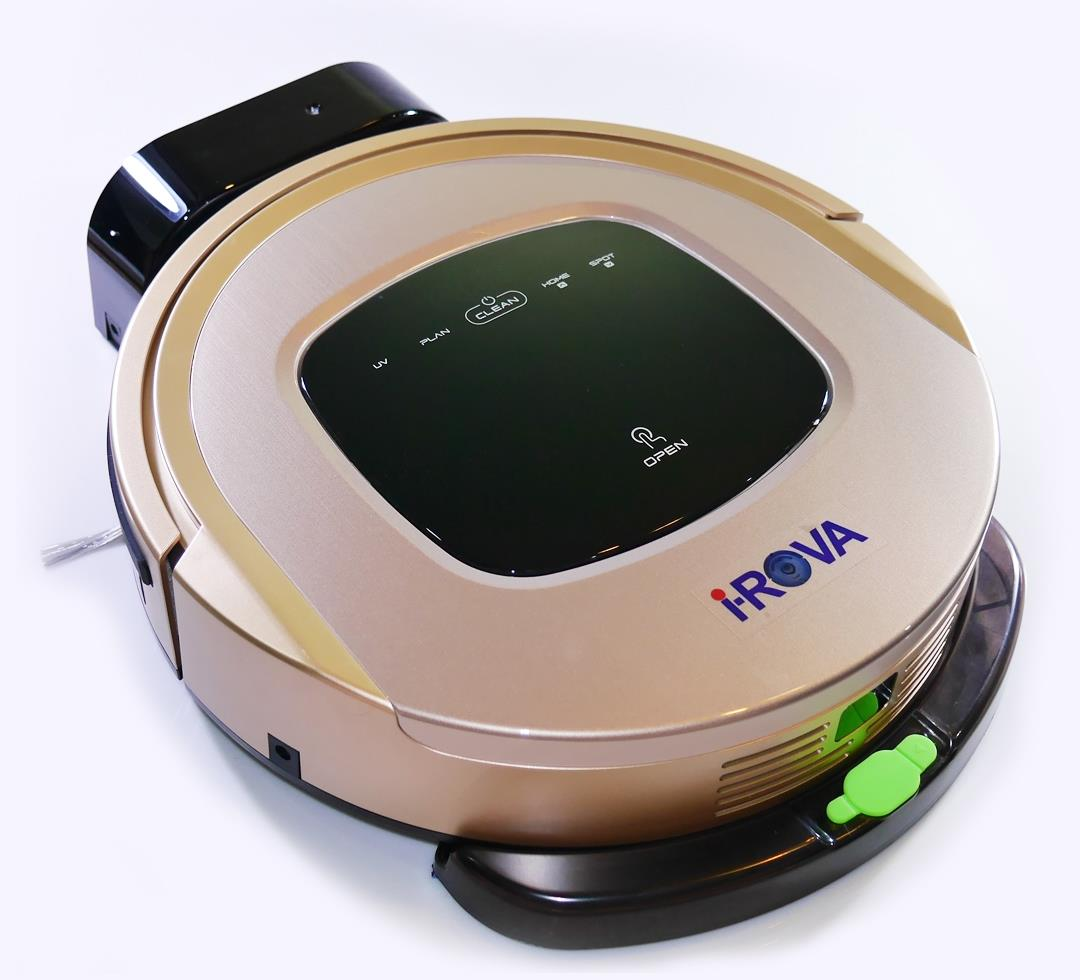 3 In 1 Robot Vacuum Cleaner With Water Tank Irova Bl 608