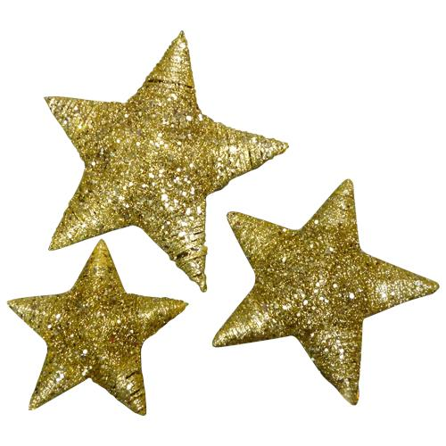 3 in 1 Shiny Star Decoration Set