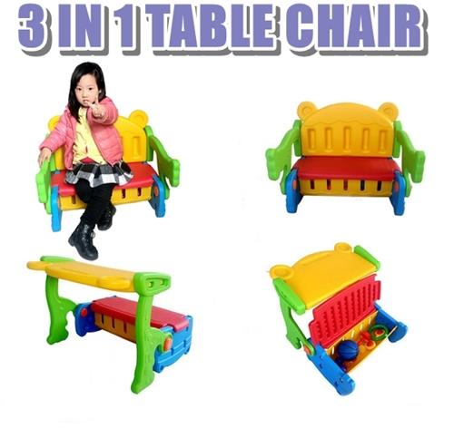 3 IN 1 TABLE CHAIR
