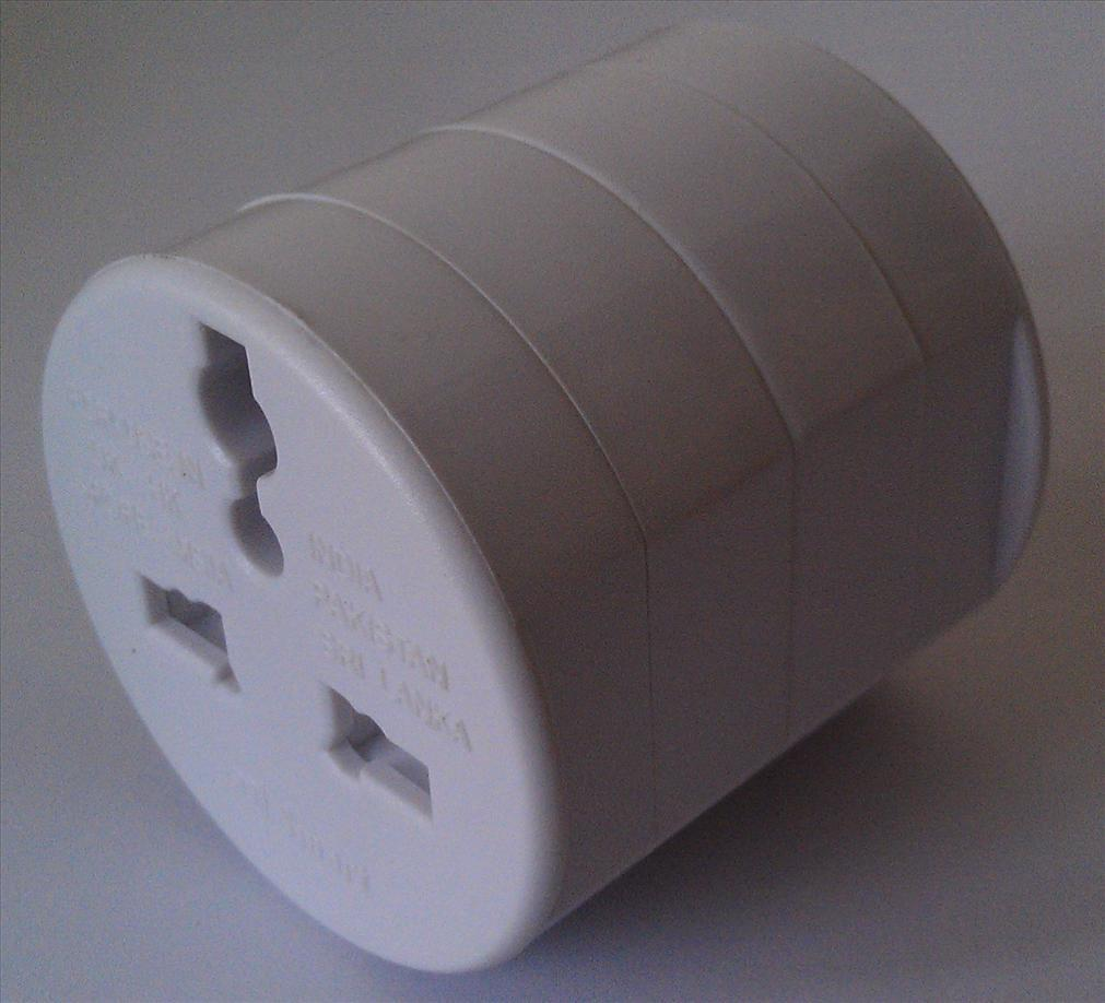 3 in 1 Universal Travelling Power Adapter