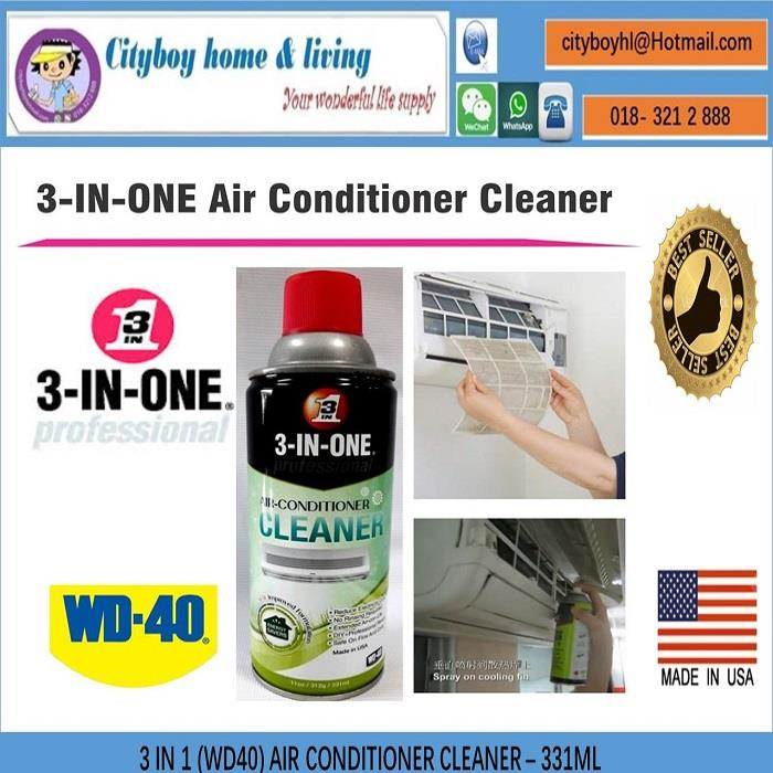3 IN 1 (WD40) AIR CONDITIONER CLEANER ¡§C 331ML