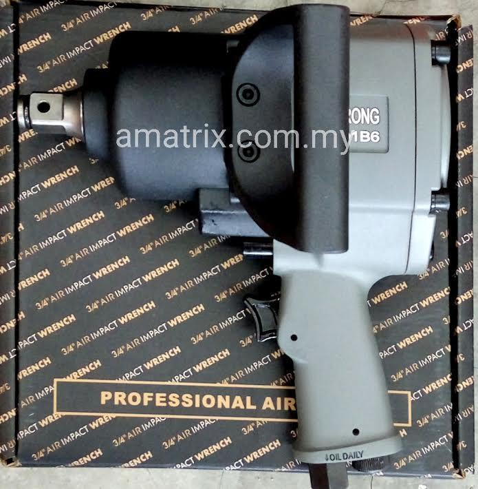 "3/4"" AIR IMPACT WRENCH  TWIN HAMMER ALSTRONG 34AO1B6"