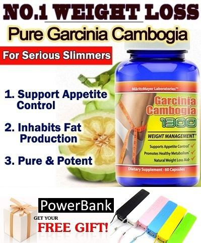 Bottle - Garcinia Cambogia 1300 USA Slimming Weight Loss 3-25KG