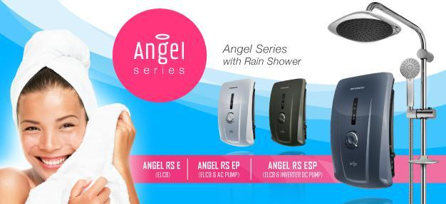 3 DAYS PROMO! BEEBEST ANGEL RAIN SHOWER WATER HEATER WITH DC / AC PUMP