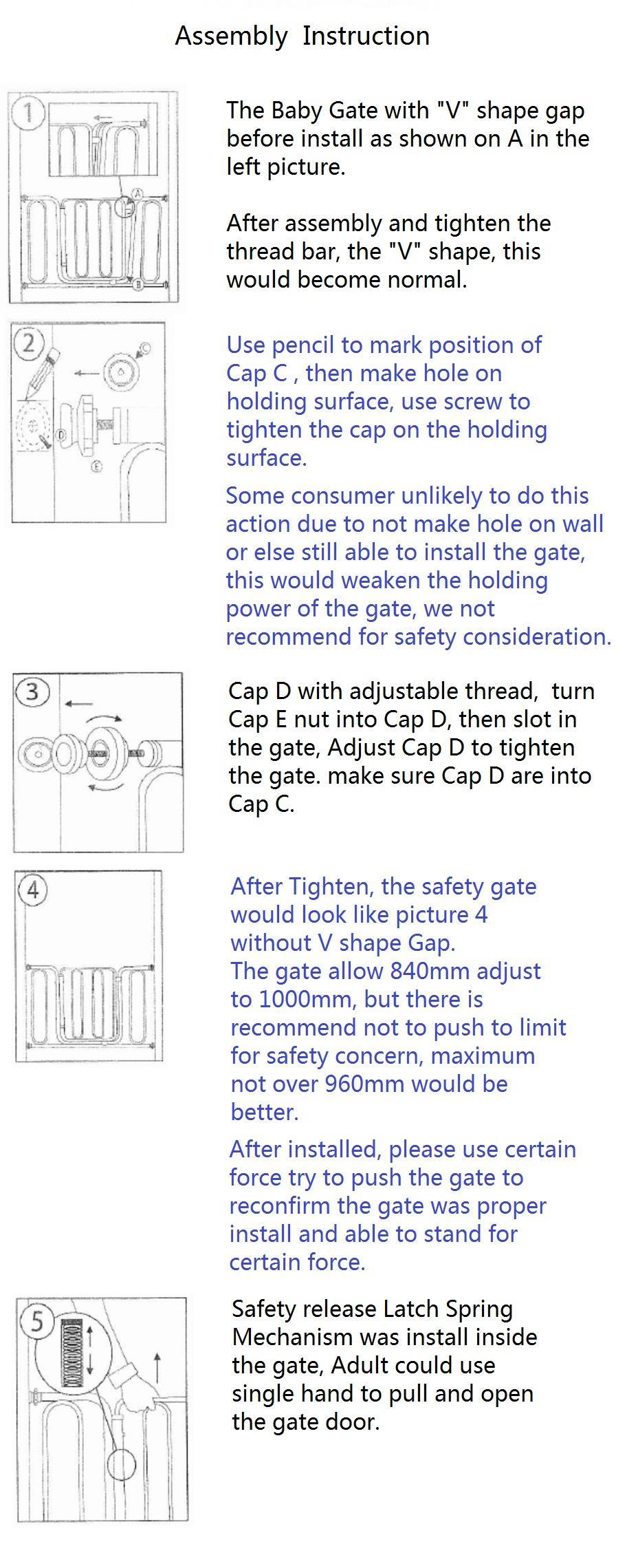 [3 different extension size] Free Delivery Baby Gate safety gate