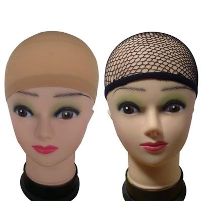 3 Pack Wig Caps Natural Nude Beige and Black Mesh