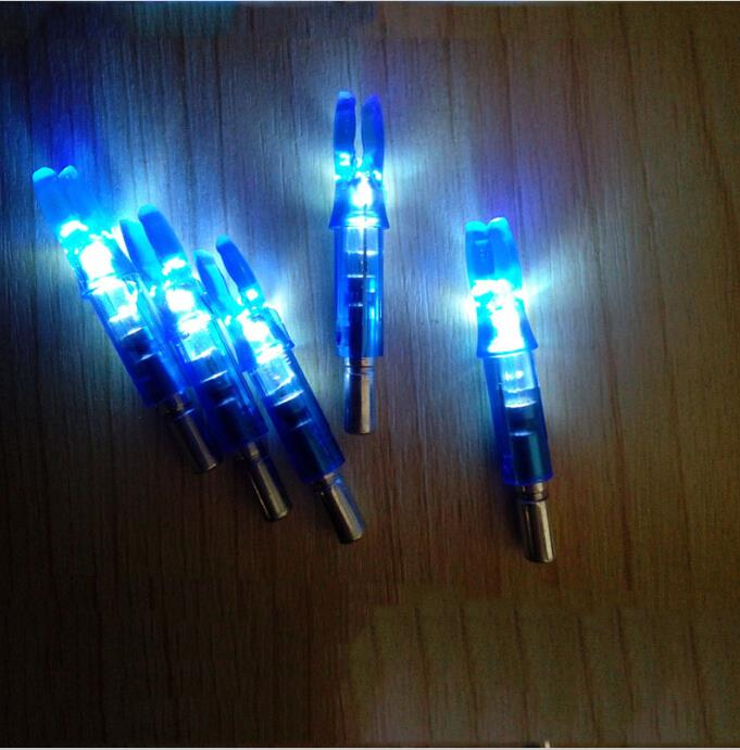 3 pcs set Automatic Lighted Nock LED For Arrow Nock - Three Colour