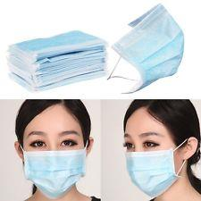 3 PLY MASK SURGICAL DISPOSABLE FACE MASK x 100PCS