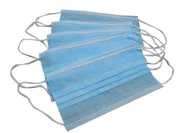 3 PLY MASK SURGICAL DISPOSABLE FACE MASK x 150PCS