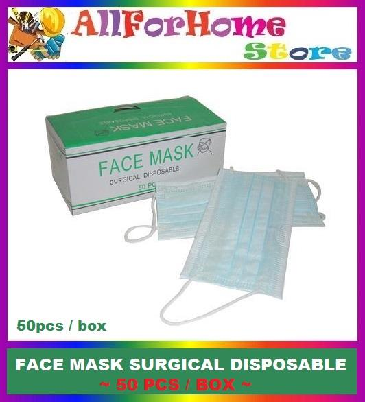 3 Ply Surgical Nonwoven Face Mask with Elastic Ear Loop