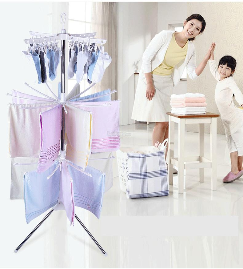 3 - Tier Clothes Suspended Laundry Drying Rack