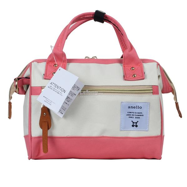 3 Ways Anello Bag (Medium size) - Pink&White