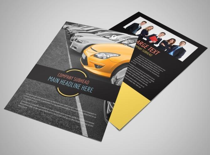 3000pcs Flyer/Leaflet With A3 80g (1-sided)