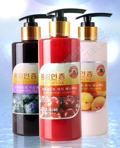 300ml Korean 6D Effect Glittering Hair Color Cream (Free Gift)
