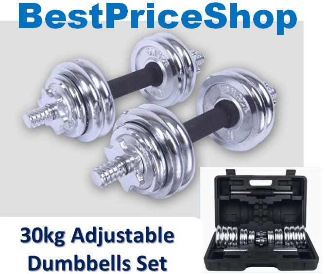 York 30kg Dumbbell Set: 30kg 40kg Adjustable Professional Q (end 7/10/2018 10:54 PM