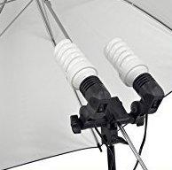 30W Dual Bulb Continuous Light Studio Photography Bulb with Stand
